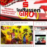 Referenz: Sparkassen Giro Internetpräsenz