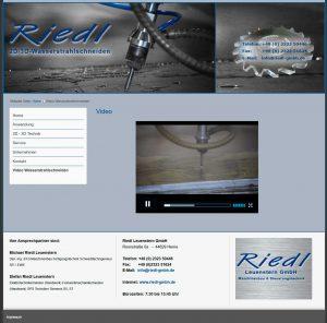 Referenz: 2D/3D – Wasserstrahlschneiden