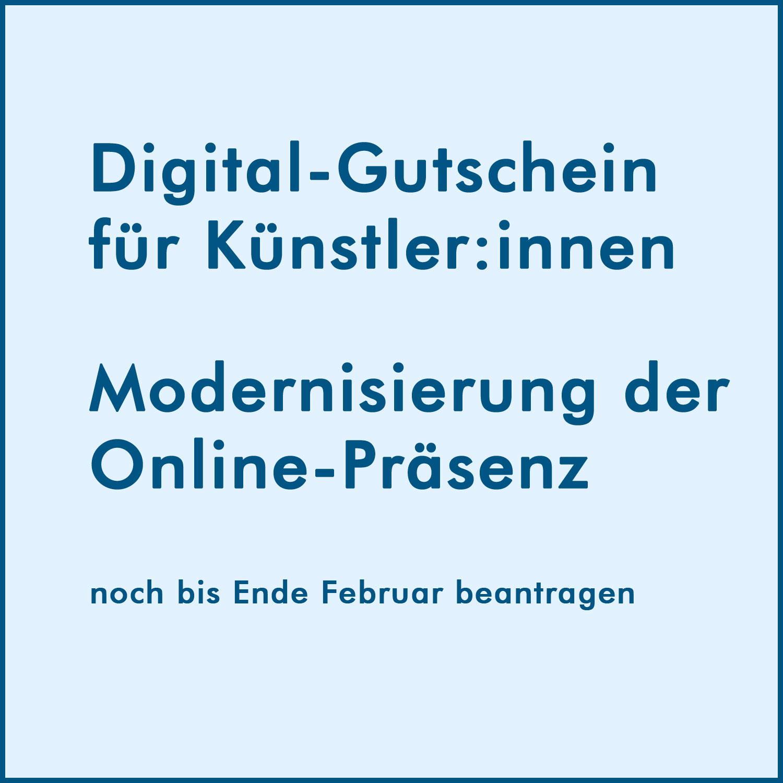 Digital-Gutschein – NEUSTART KULTUR